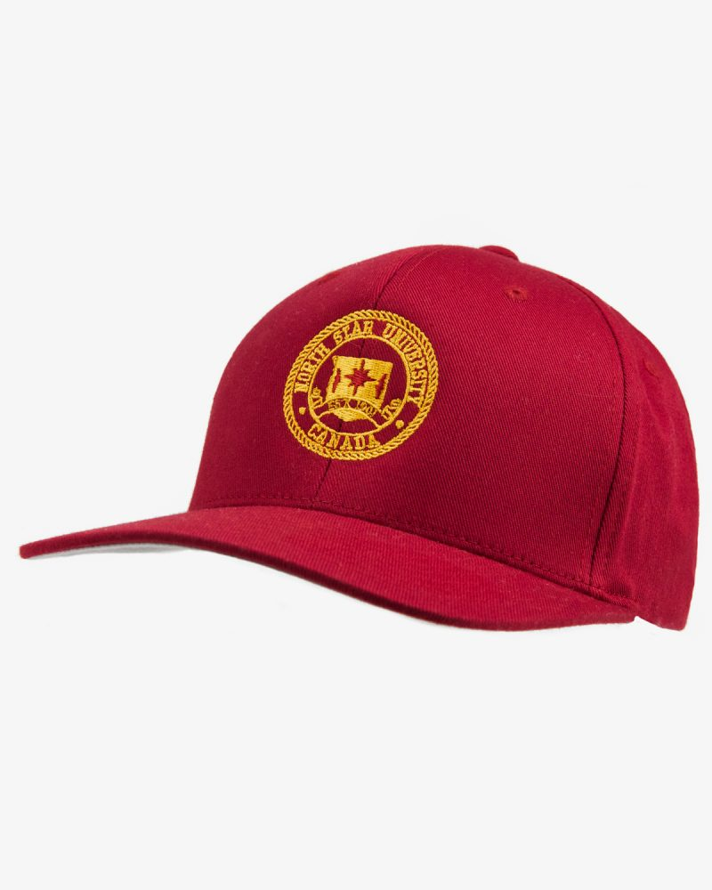 Signature Baseball Cap in Red