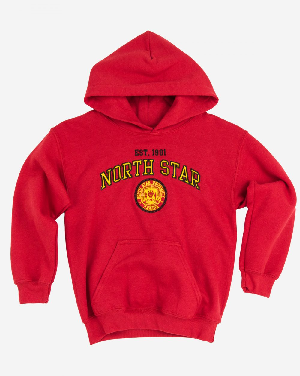 Youth Hood 120 in red.