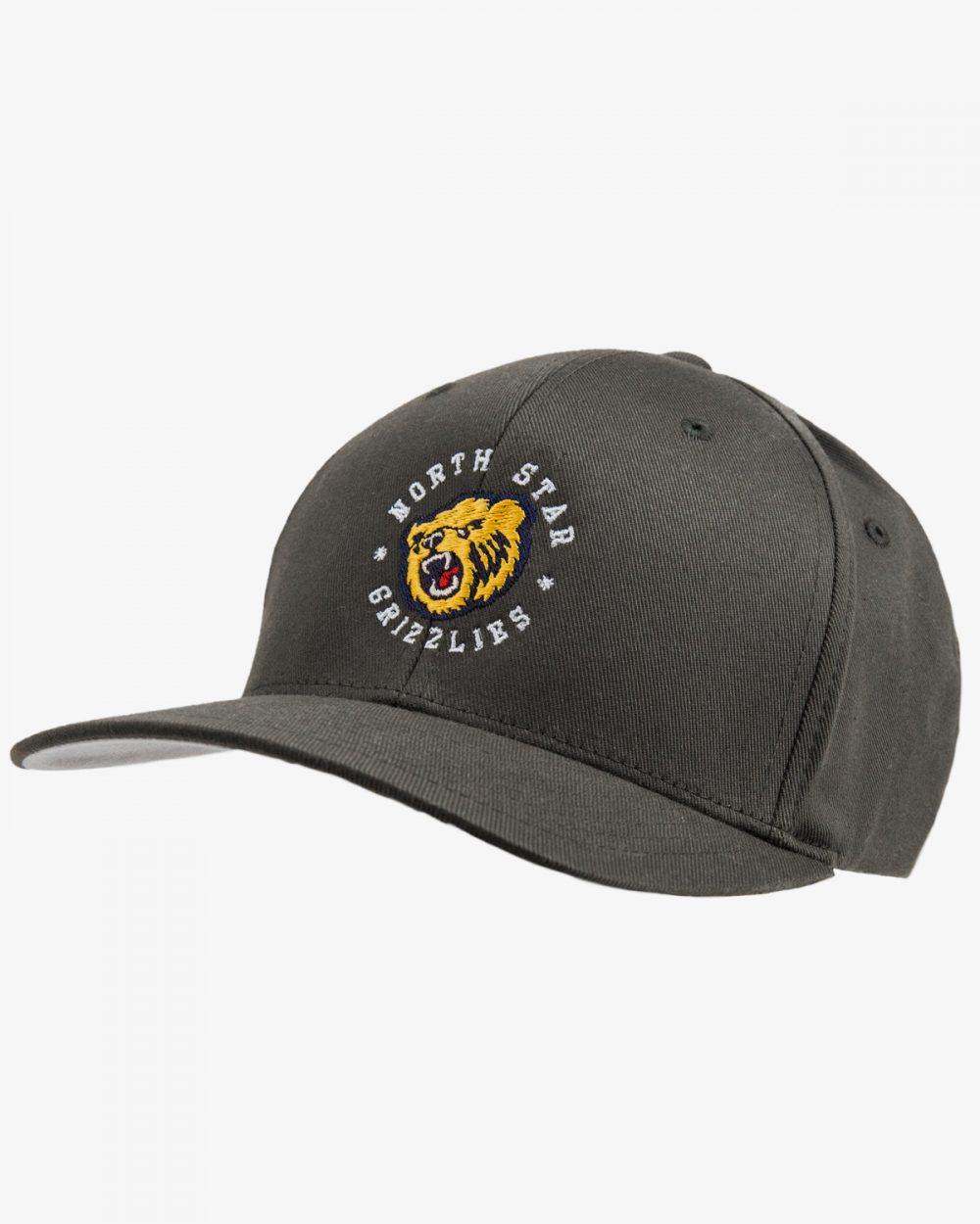 Performance Baseball Hat 521 Grey