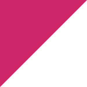 Pink Raspberry/White