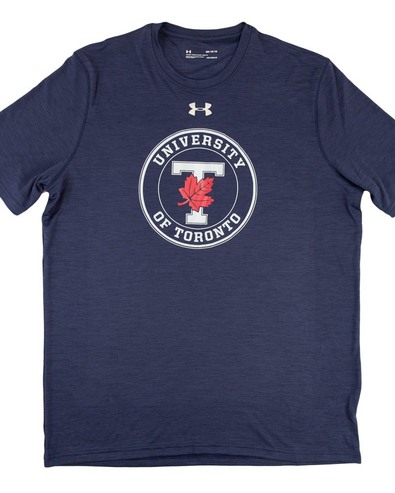 Navy Circular T-Leaf Under Armour T-Shirt