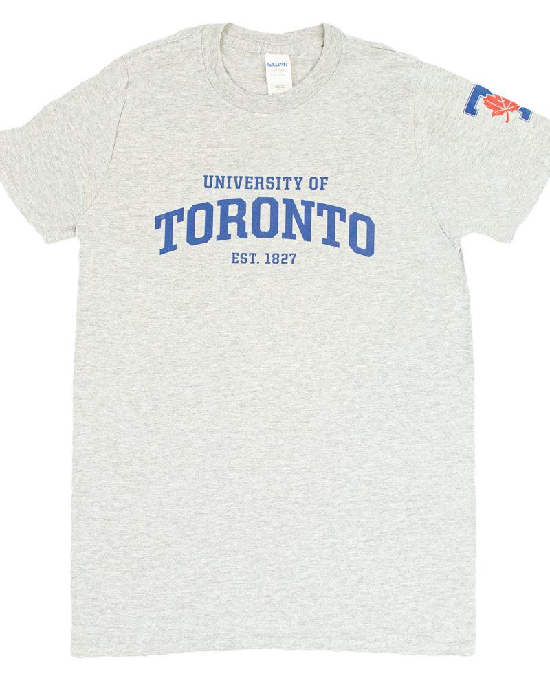 Athletic Grey Men's Athletic Wordmark T-Shirt
